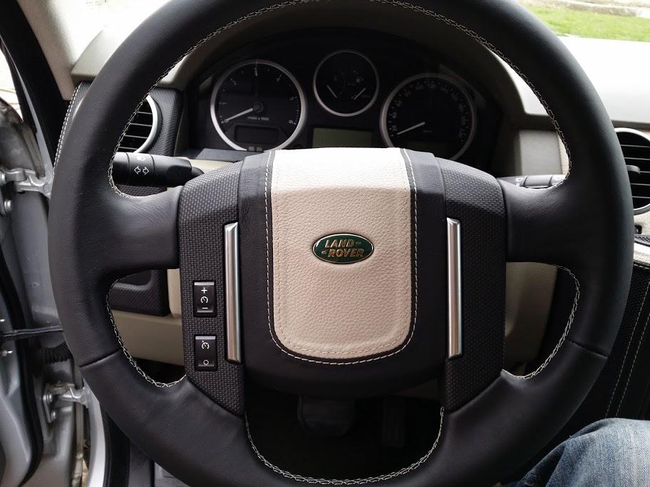 Kožený volant + airbag